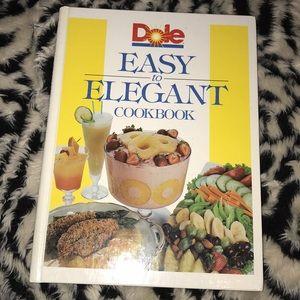 Other - 1989 Vintage Dole easy to elegant cookbook